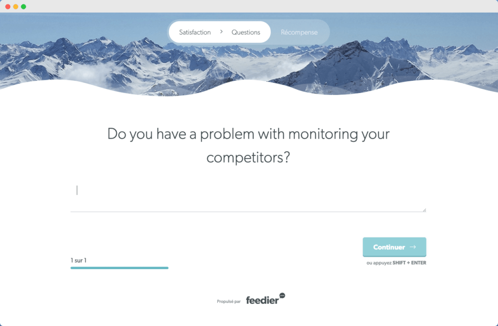 Do you have a problem with monitoring your competitors?