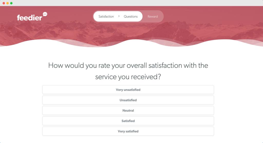 CSAT Survey Question