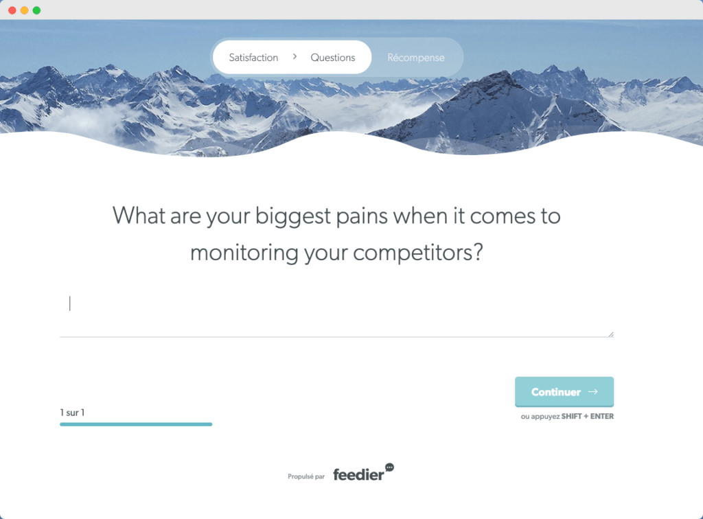 What are your biggest pains when it comes to monitoring your competitors?