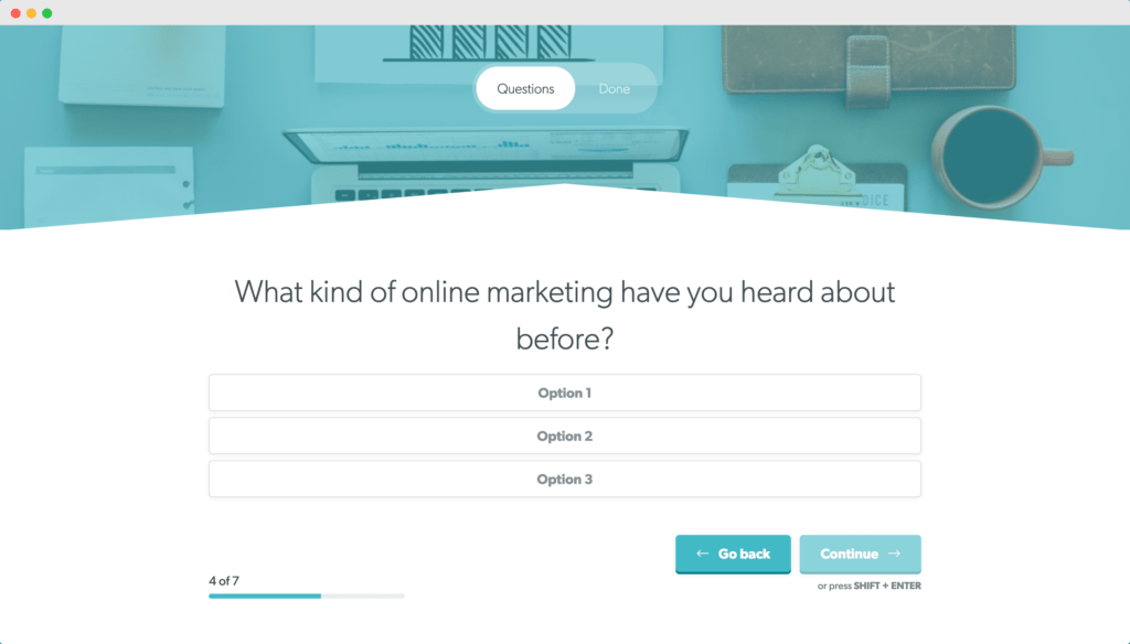 What kind of online marketing have you heard about before?