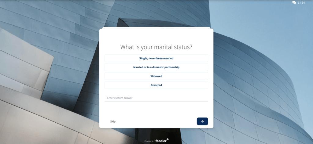 employment status survey demographic questions