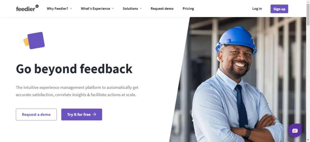 feedier feedback management platform and medallia alternatives