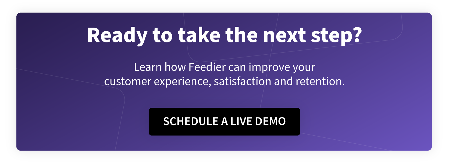 schedule a feedier demonstration