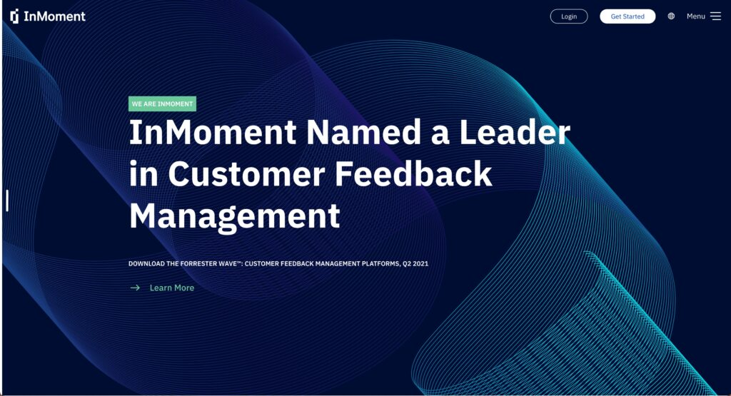 InMoment - Voice of the customer