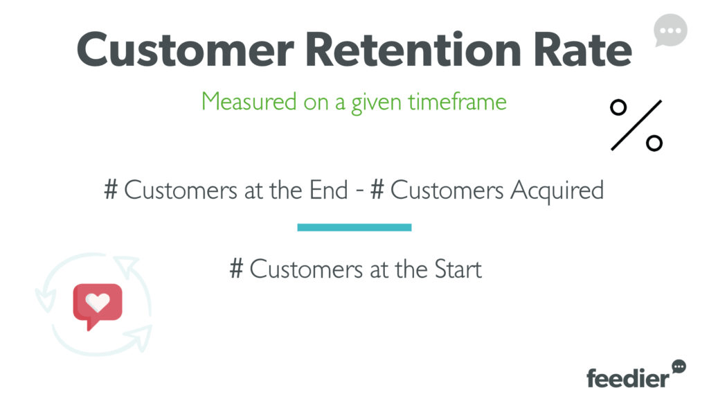 customer retention rate measure for operational excellence