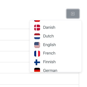 Supports 20+ languages
